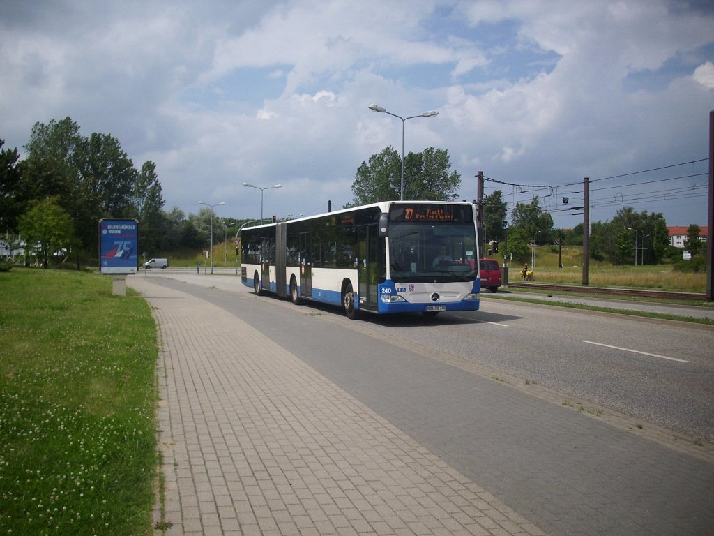 mercedes citaro ii der rostocker stra enbahn ag in rostock busse. Black Bedroom Furniture Sets. Home Design Ideas