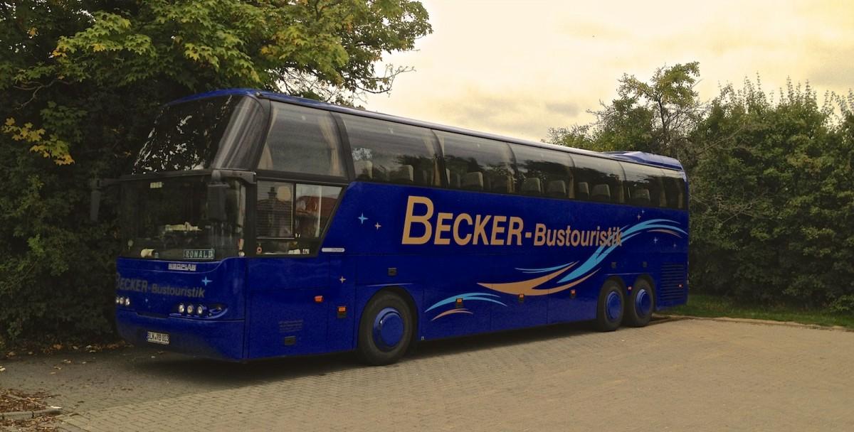 dieser neoplan cityliner von becker bustouristik stand am sonntag dem auf einem. Black Bedroom Furniture Sets. Home Design Ideas