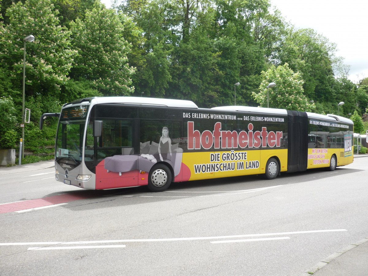 ein mb citaro im schienenersatzverkehr im einsatz am bahnhof in leonberg von spillmann aus. Black Bedroom Furniture Sets. Home Design Ideas