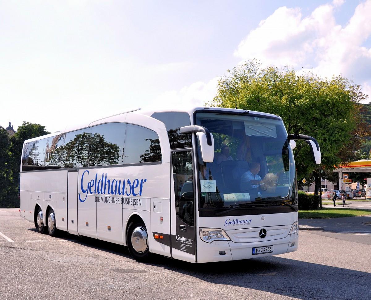 Mercedes benz travego von geldhauser busreisen aus for Mercedes benz deutschland