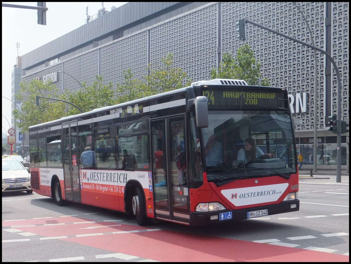 Mercedes citaro i der vhh pvg in hamburg busse welt for Benz hamburg
