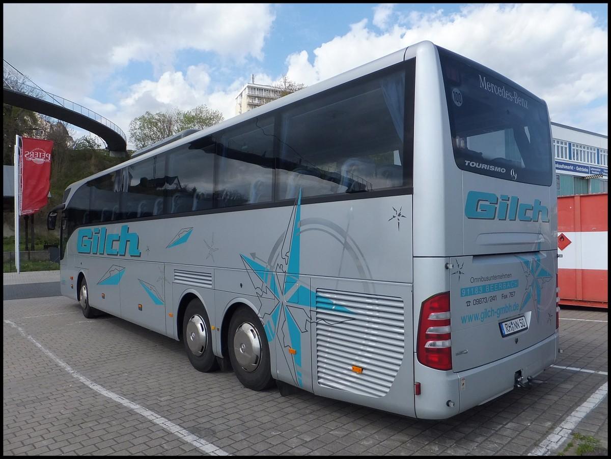 Mercedes tourismo von gilch aus deutschland im stadthafen for Mercedes benz deutschland
