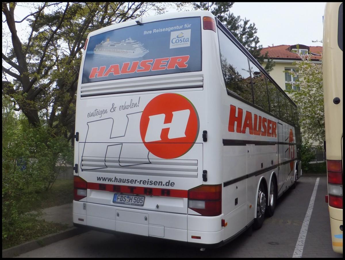 Setra 316 HDS von Hauser Reisen aus Deutschland in Binz