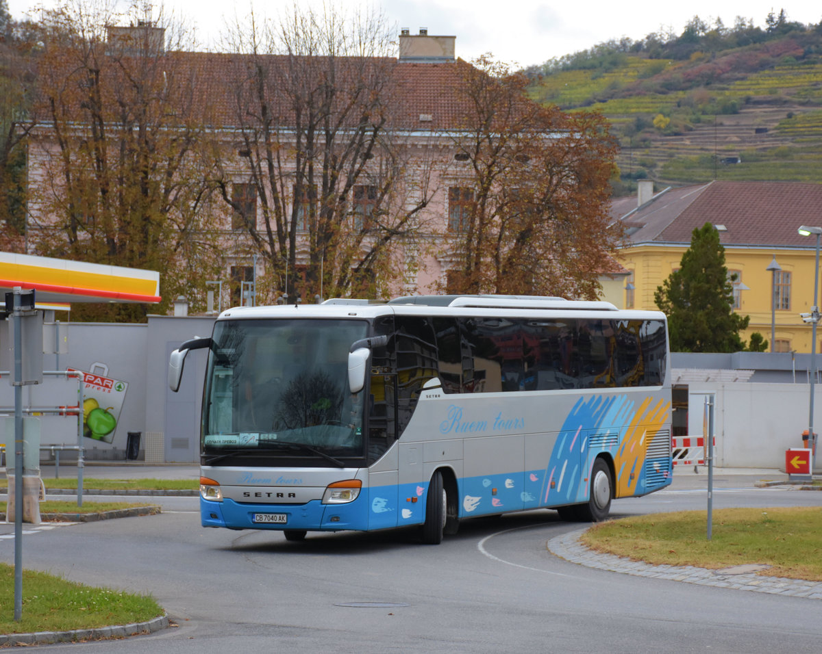 Setra 415 GT-HD von Buem Tours in Krems.
