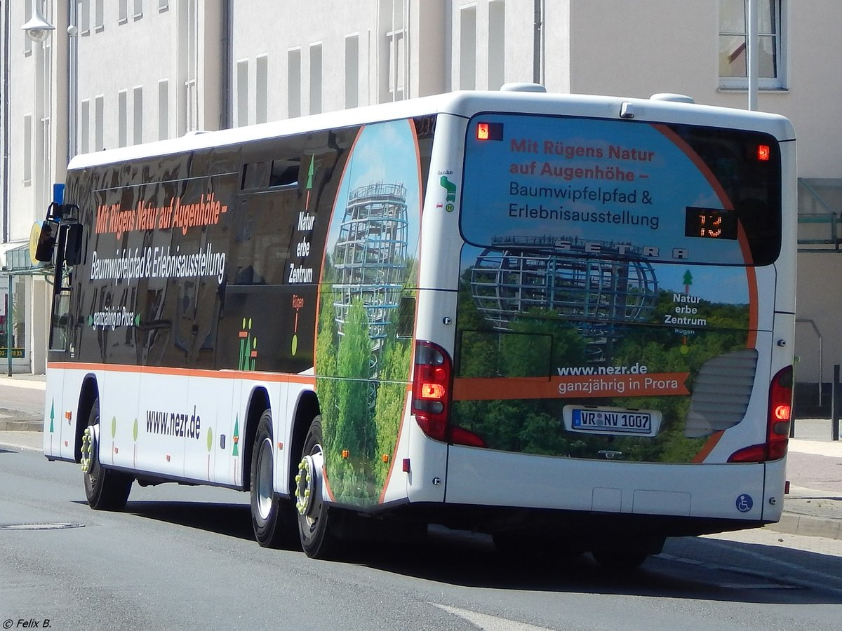 Setra 418 LE Business der VVR in Sassnitz.