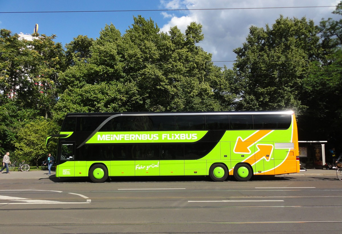 setra 431 dt von meinfernbus flixbus am 29 beim hpt. Black Bedroom Furniture Sets. Home Design Ideas