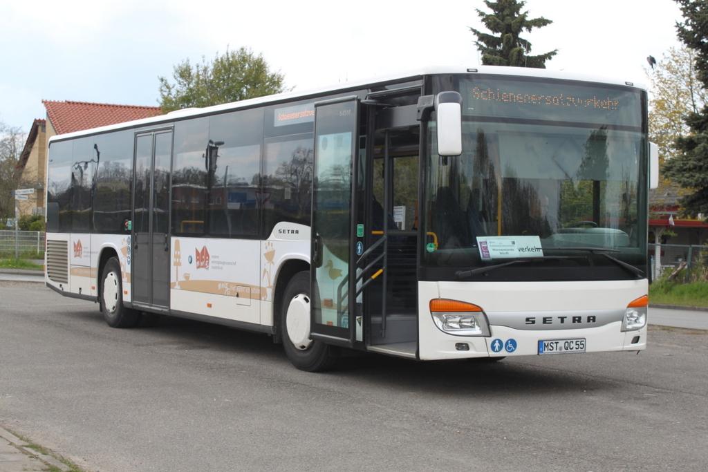 setra s 400er serie nf als sev bus von rostock bramow nach warnem nde werft stand am. Black Bedroom Furniture Sets. Home Design Ideas