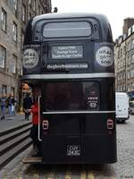 AEC Routenmaster von The ghost bus tours in Schottland.