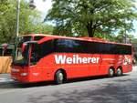Mercedes-Benz Tourismo/599847/mercedes-tourismo-von-weiherer-aus-deutschland Mercedes Tourismo von Weiherer aus Deutschland in Berlin.