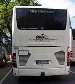 Mercedes-Benz Tourismovon Piller travel aus Miscole, Borsod-Abanj-Zamplen, Ungarn in Freiburg am 07.07.2019.