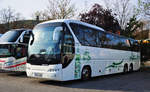 Neoplan Tourliner/593642/neoplan-tourliner-aus-ungarn-in-krems Neoplan Tourliner aus Ungarn in Krems.