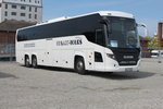 Scania Touring stand am 30.04.2016 in Warnemünde