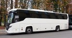 Scania Touring Higger von Limousine Service in Berlin am 05.10.2016.
