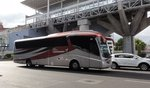 Scania Irizar Pb Airportshuttle in Mexico City gesehen.