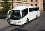 Scania Irizar Reisebus am 21.09.2016 in Stockholm.