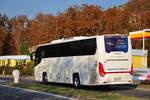 Scania Touring/588260/scania-touring-aus-der-cz-in Scania Touring aus der CZ in Krems.