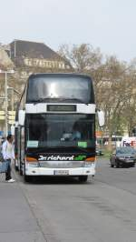 Setra 400  Dr. Richard  in Wien am 5.4.2012.