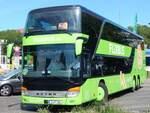 Setra 400er-Serie/601834/setra-431-dt-von-flixbuswoerlitz-tourist Setra 431 DT von Flixbus/Wörlitz Tourist aus Deutschland in Berlin.