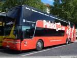 Van Hool T9xx/602843/van-hool-td927-von-polskibus-aus Van Hool TD927 von Polskibus aus Polen in Berlin.