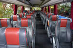 VDL Futura/601923/gediegene-sitze-im-vdl-futura-von Gediegene Sitze im VDL Futura von EUROBUS aus der Schweiz (Luzern).
