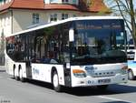 Setra 418 LE Business von Regionalbus Rostock in Güstrow.