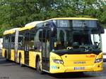 Scania Citywide der BVG in Berlin.