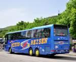 Alle/288999/man-reisebus-von-mikus-aus-der MAN Reisebus von MIKUS aus der BRD am 19.5.2013 in Krems.