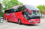 ljubljana-faniani-skupina/530692/scania---higer-a-90-von Scania - Higer A 90 von Faniani aus der SLO in Krems gesehen.